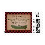 Plaid Canoe + Evergreen Wedding Stamps