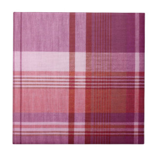Plaid Ceramic Tile
