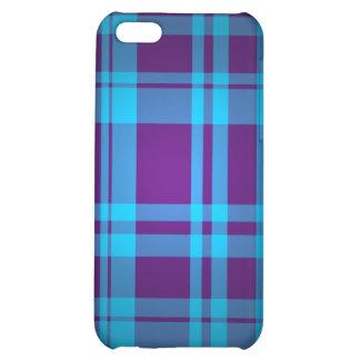 Plaid Design IPhone Case Cover For iPhone 5C