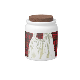 Plaid Dress Candy Dishes
