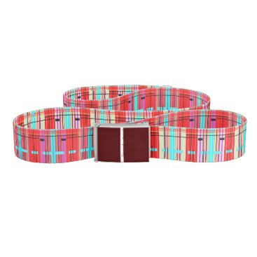Professional Business Plaid Etc. Belt
