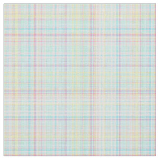 Plaid Fabric-Pastel Baby Blends 02 Fabric