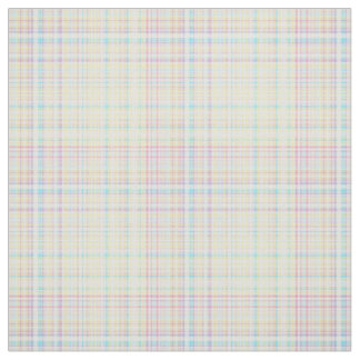 Plaid Fabric-Pastel Baby Blends 11 Fabric