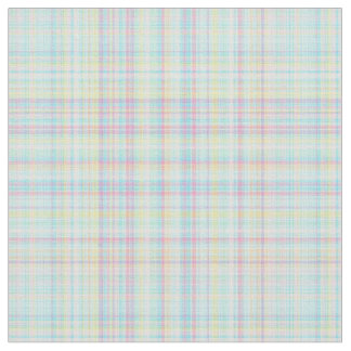 Plaid Fabric-Pastel Baby Blends 12 Fabric