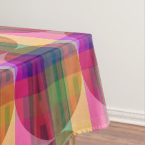 Plaid Faith Tablecloth