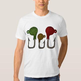 plaid fish jigheads  - Sasquatch Signature S T-shirts