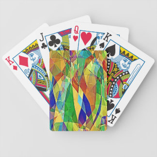 Plaid Gone Bad Bicycle Playing Cards