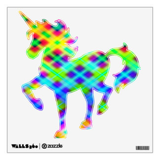 Plaid Gone Wild Wall Decal