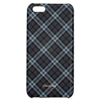 Plaid Gray Blue Purple Pattern Savvy Case For iPhone 5C