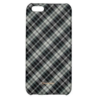 Plaid Gray Green Pattern Savvy Cover For iPhone 5C