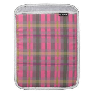 Plaid iPad Sleeves