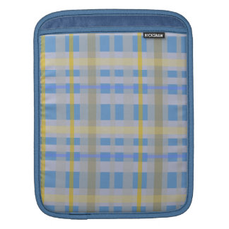 Plaid iPad Sleeve