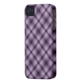 Plaid iPhone Case in a Gorgeos Purple Colour Case-Mate iPhone 4 Case