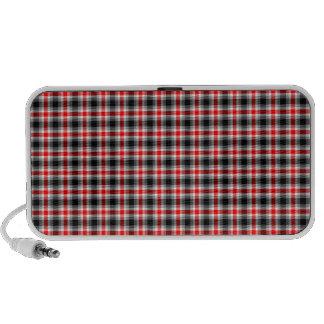 Plaid iPod Speakers