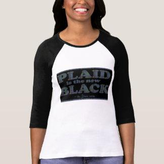 Plaid is the New Black! T-Shirt
