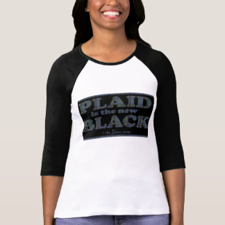 Plaid is the New Black! Tshirts
