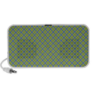 Plaid Laptop Speaker