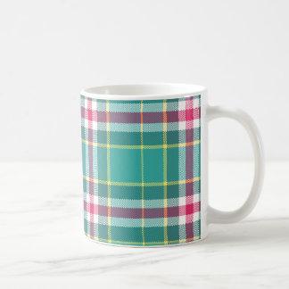 Plaid Mug by Leslie Harlow