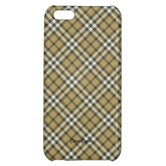 Plaid Naples Yellow Pattern Savvy Cover For iPhone 5C