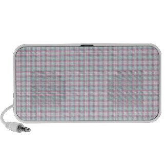 Plaid Notebook Speakers