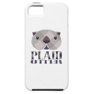 Plaid Otter iPhone Case