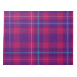 Plaid Pattern Craft Paper / Disposable Place Mats Note Pad