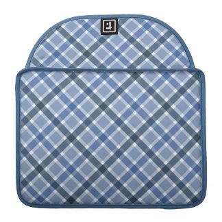 Plaid Pattern custom MacBook sleeve