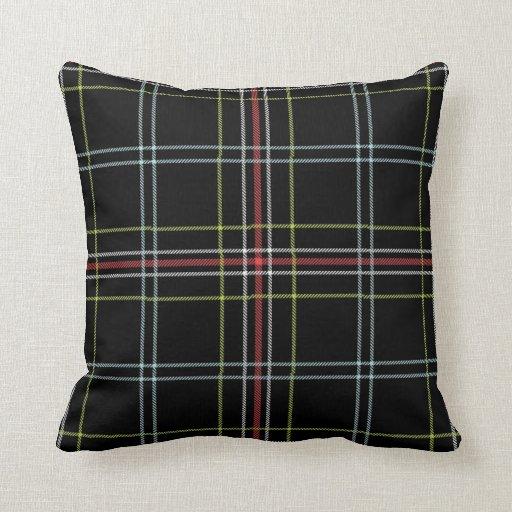 Plaid Pattern Pillow Zazzle
