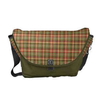 Plaid Perfection Commuter Bag