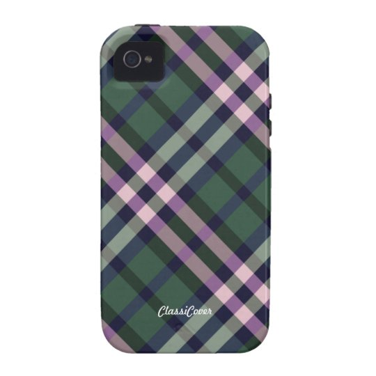 Plaid Pink Green Case Mate