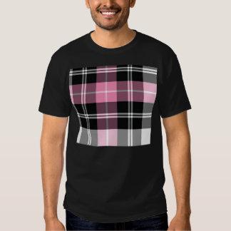 Plaid pink T-Shirt