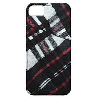 plaid pocket iPhone SE/5/5s case
