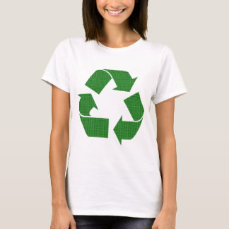 plaid recycle T-Shirt