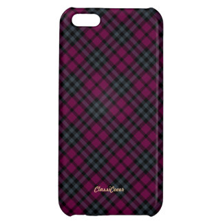 Plaid Red Green Pattern Savvy iPhone 5C Case