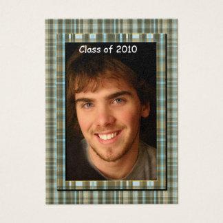 Plaid Senior Class of 2010 Photo Cards