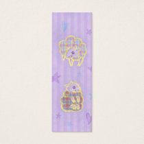 Plaid Sheep Bookmark Mini Business Card