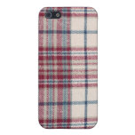 Plaid Shirt Cases For iPhone 5