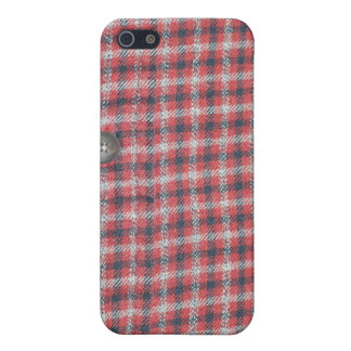 Plaid Shirt Covers For iPhone 5