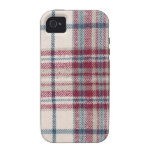 Plaid Shirt / Flannel Shirt pattern iPhone 4/4S Covers