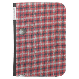 Plaid Shirt / Flannel Shirt pattern Cases For Kindle