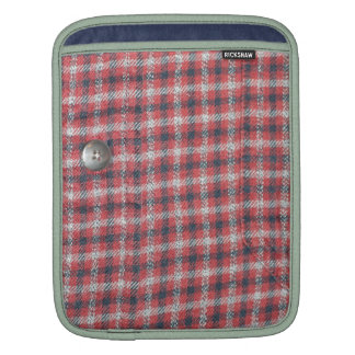 Plaid Shirt / Flannel Shirt pattern Sleeves For iPads