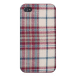 Plaid Shirt iPhone 4 Cases