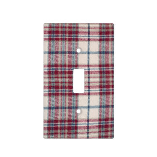 Plaid Shirt Switch Plate Cover