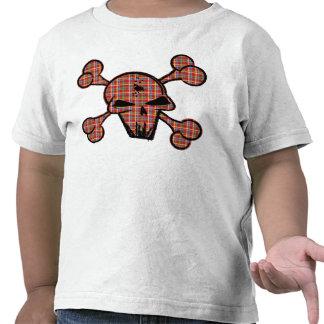 Plaid Skull Tshirts