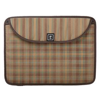 Plaid Stripe Macbook Pro Rickshaw Laptop Sleeve Sleeve For MacBook Pro