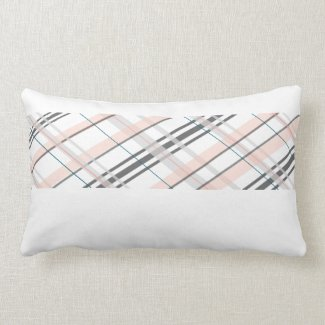 Plaid Stripe Pillow