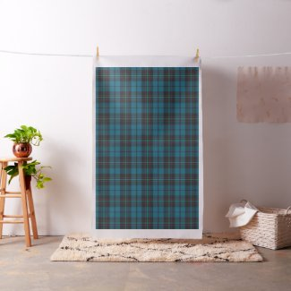 Plaid tartan pattern fabric