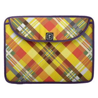 Plaid / Tartan - 'Sunflower' MacBook Pro Sleeve