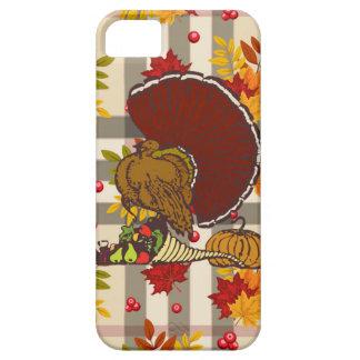 plaid thanksgiving turkey iPhone SE/5/5s case