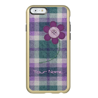 Plaid With Flower Incipio Feather Shine iPhone 6 Case